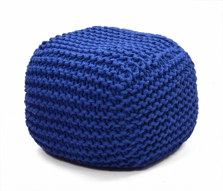Knitted Poufs: modern  by Natural Fibres Export,Modern