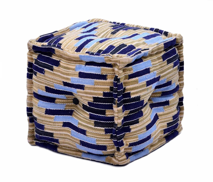 Natural Fibres Cotton Ottomans and Poufs: modern  by Natural Fibres Export,Modern