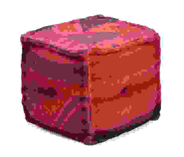 Wool Jute Poufs: modern  by Natural Fibres Export,Modern