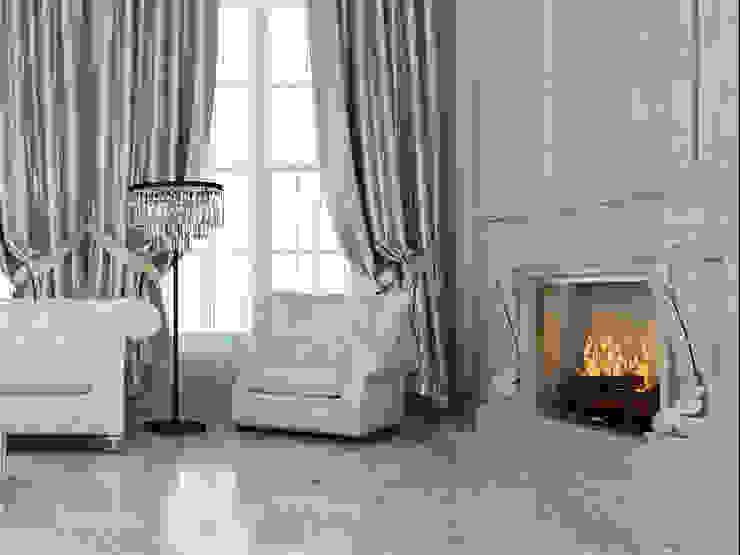 Salas de estilo clásico de Space - студия дизайна интерьера премиум класса Clásico