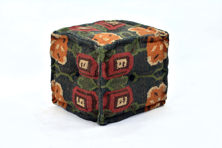 Kilim Ottomans By Natural Fibres Export: modern  by Natural Fibres Export,Modern