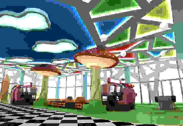 Детский развлекательный центр <q>Алиса</q> от Studio Kamil Tsuntaev