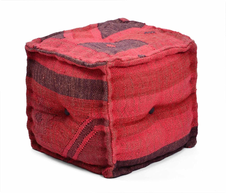 Hand Dyed Natural Fibres Ottomans: modern  by Natural Fibres Export,Modern