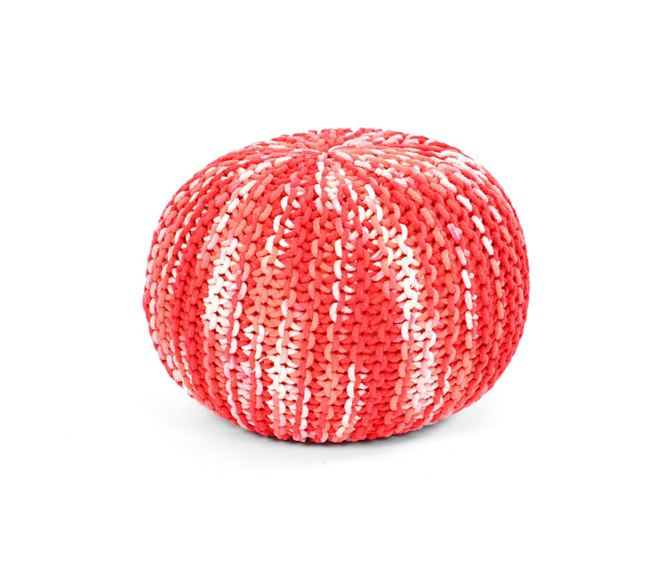Small Knitted Poufs by Natural Fibres Export: modern  by Natural Fibres Export,Modern