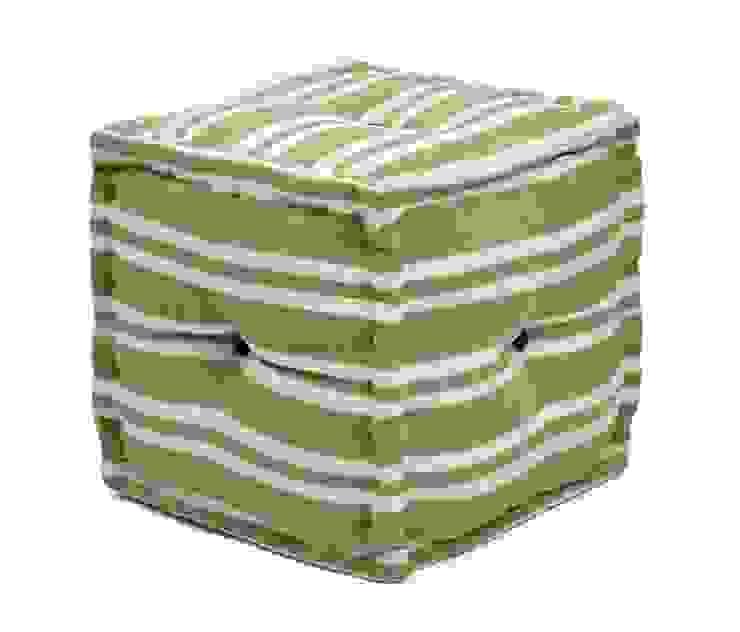 Stripe Modern Design Ottomans & Cubes Modern style bedroom by Natural Fibres Export Modern