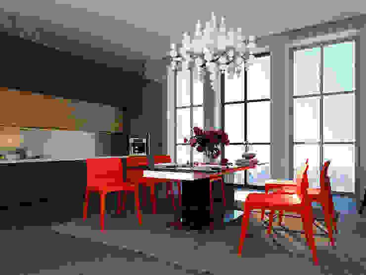 Industrial style kitchen by Space - студия дизайна интерьера премиум класса Industrial
