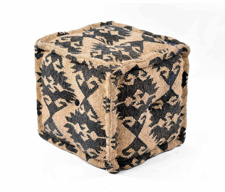 Vintage Ottomans and Home Furnishings: modern  by Natural Fibres Export,Modern