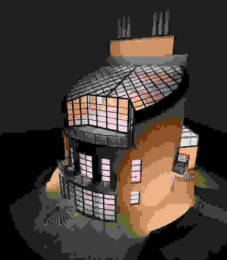 Жилой дом с мастерской от Studio Kamil Tsuntaev
