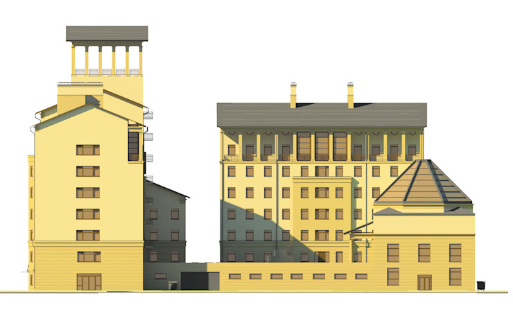 Жилой комплекс от Studio Kamil Tsuntaev Классический