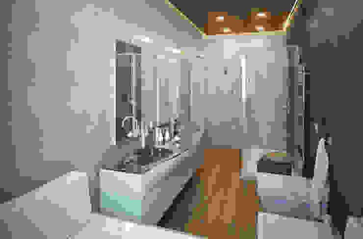Baños modernos de Beniamino Faliti Architetto Moderno