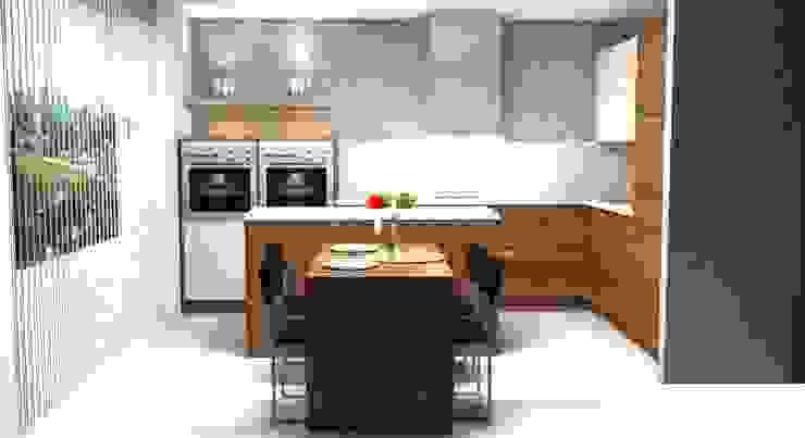 Кухня:  в современный. Автор – ABICS, Модерн