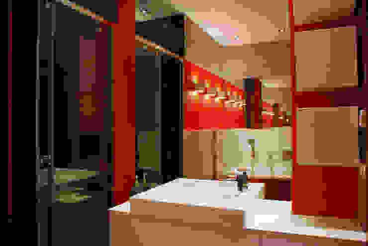 ARCHINSIDE STUDIO KATARZYNA PARZYMIES Modern Bathroom