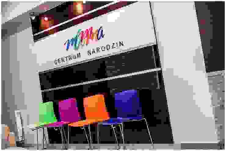 Centrum Narodzin Mamma od ARCHINSIDE STUDIO KATARZYNA PARZYMIES Nowoczesny