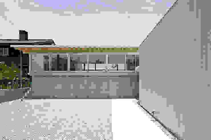 外観 モダンな 家 の 空間建築-傳 モダン