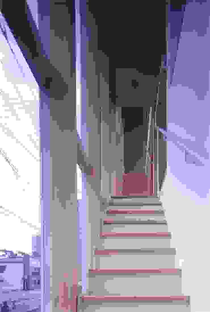 階段の家 モダンスタイルの 玄関&廊下&階段 の 有限会社古里設計一級建築士事務所 モダン
