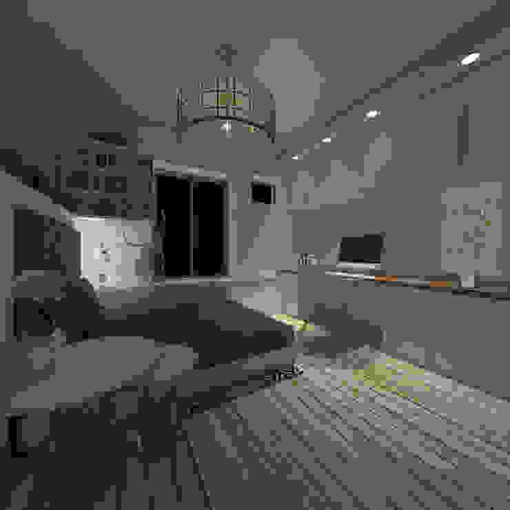 Studio 23m² Chambre originale par Aurélia Petitet Éclectique