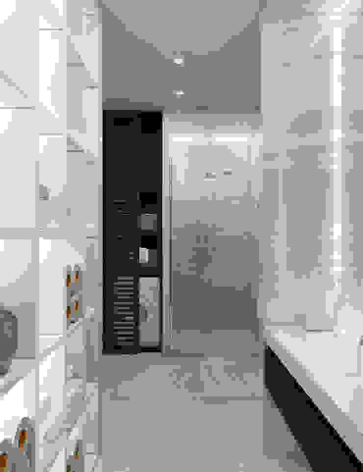 Летняя квартира у Черного моря Ванная комната в стиле минимализм от Котова Ольга Минимализм