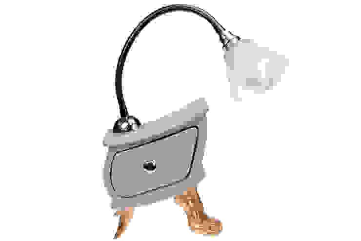 Vago Minds Ltd. – Çekmeceli Masa Lambası / Lamp Slate: modern tarz , Modern