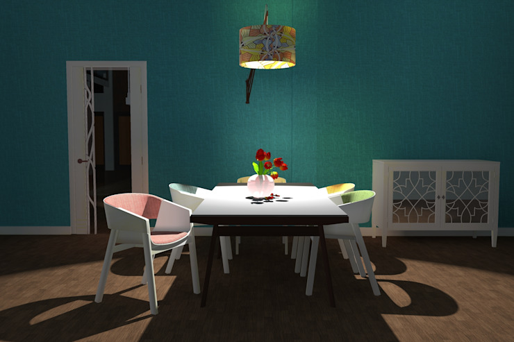 Dining room. Modern dining room by Kay Studio Modern
