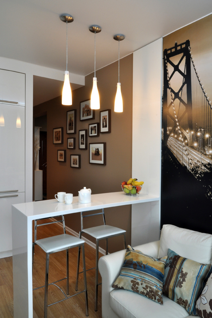 Квартира на Приморском проспекте Студия Анастасии Бархатовой Кухни в эклектичном стиле