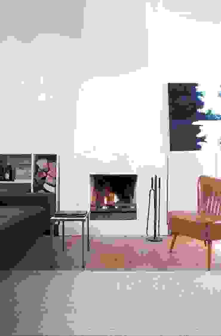 Woonkamer Moderne woonkamers van ontwerpplek, interieurarchitectuur Modern