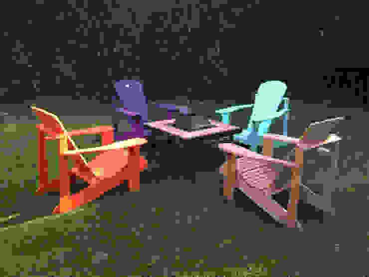 Mesa Malibu Mundo garden ® de Mundo Garden Moderno Hierro/Acero