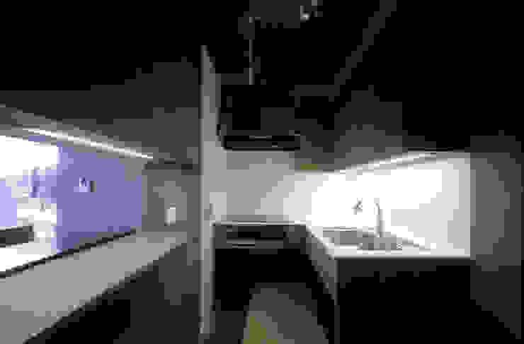 二軒屋の家 和風の キッチン の 松本匡弘建築設計事務所 和風