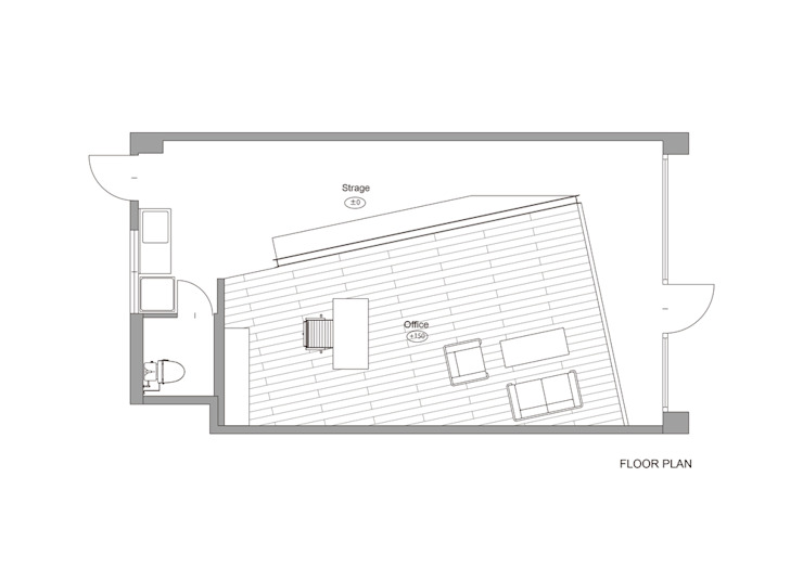 Brightly office の イクスデザイン / iks design モダン