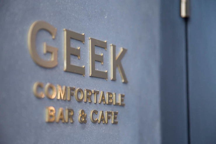 GEEK comfortable bar & cafe の イクスデザイン / iks design モダン