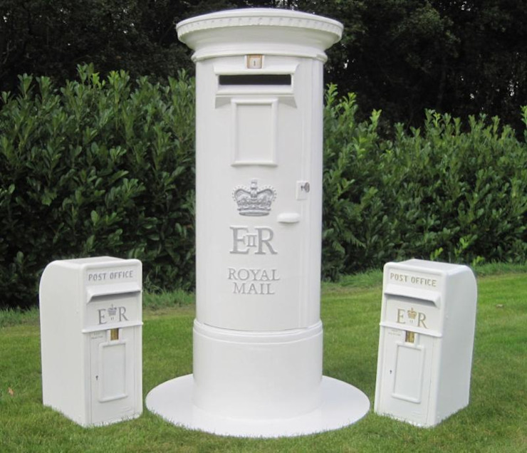 Wedding Day Post Boxes and Pillars de UKAA | UK Architectural Antiques Clásico
