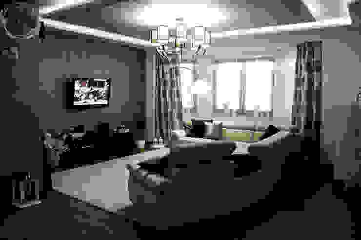 Dom pod Zambrowem Nowoczesny salon od EnDecoration Nowoczesny