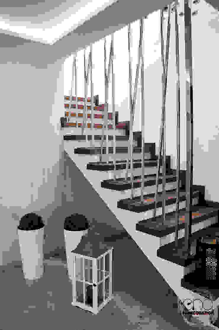 Modern corridor, hallway & stairs by EnDecoration Modern