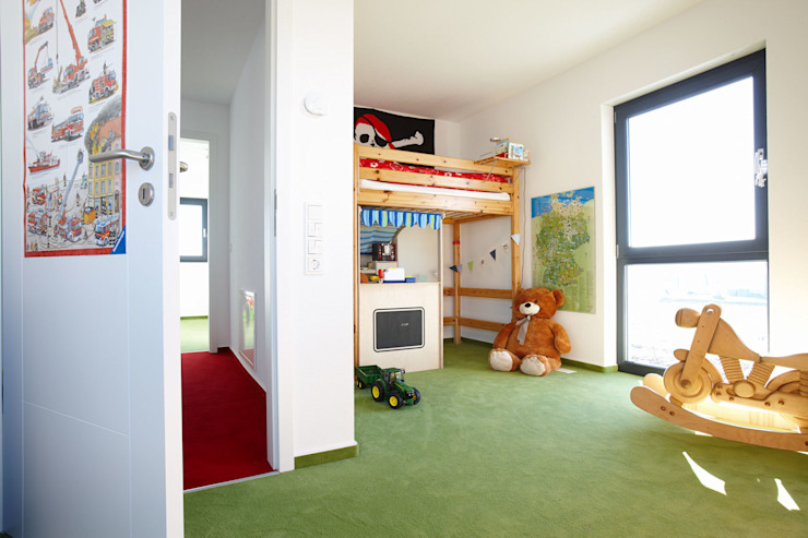 Boys Bedroom by FingerHaus GmbH - Bauunternehmen in Frankenberg (Eder), Modern