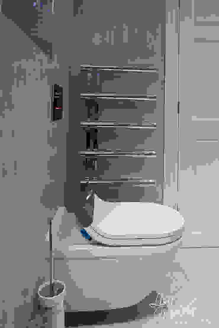Duravit Sensowash 現代浴室設計點子、靈感&圖片 根據 Lisa Melvin Design 現代風