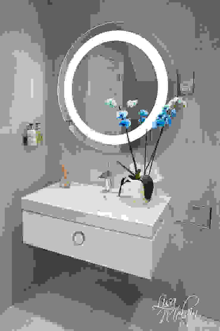 Keramag Design 現代浴室設計點子、靈感&圖片 根據 Lisa Melvin Design 現代風
