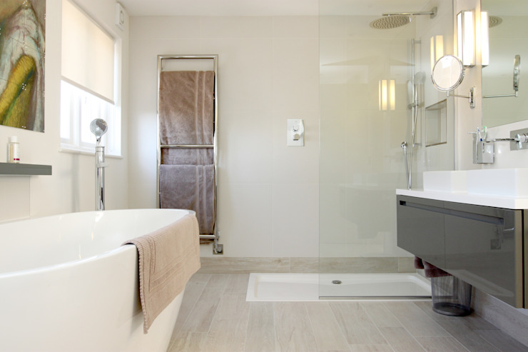 Cricklewood Interior Design Project Modern bathroom by Primrose Interiors Modern