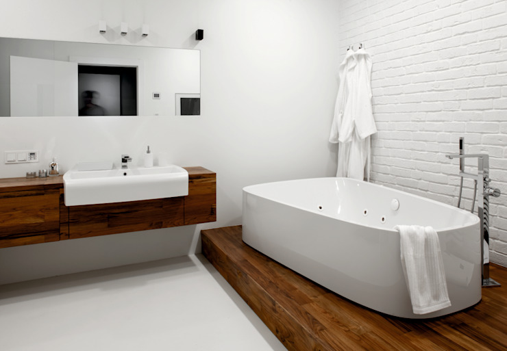Modern Bathroom by Ostańska design Modern