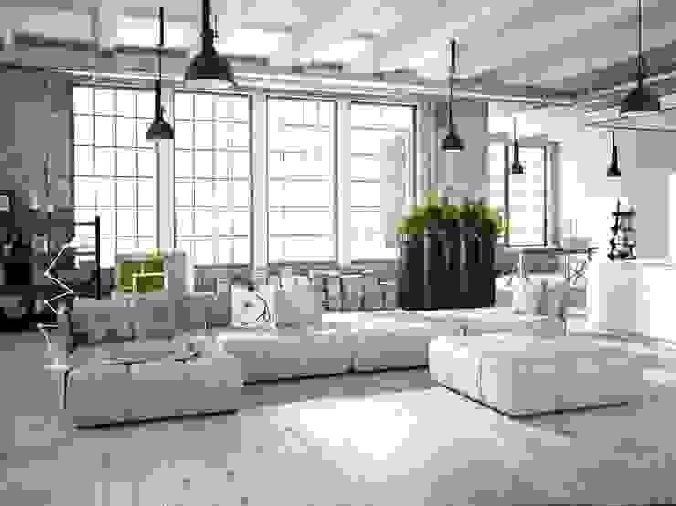 Nowoczesna donica Bamboo: styl , w kategorii  zaprojektowany przez TerraForm,Nowoczesny
