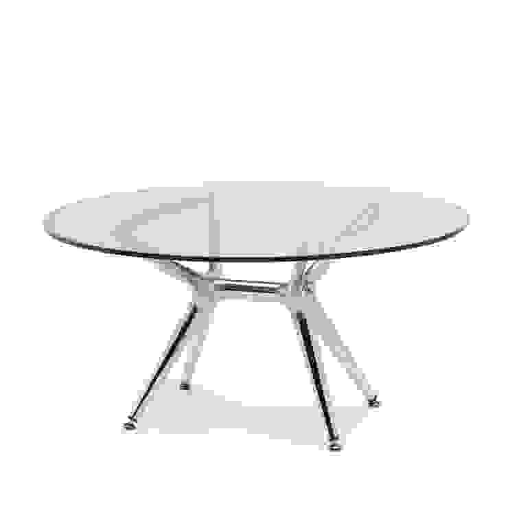 Letizia Black Square Side Table with