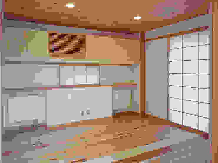 個室 オリジナルスタイルの 寝室 の 堀内総合計画事務所 オリジナル