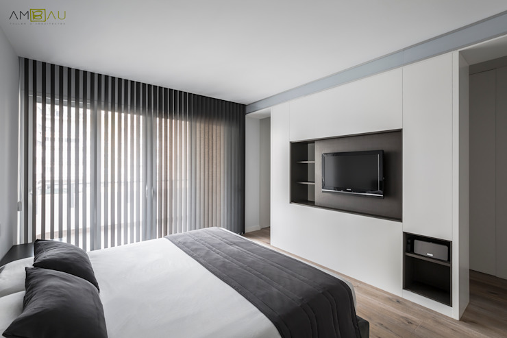 Bedroom by ambau taller d´arquitectes