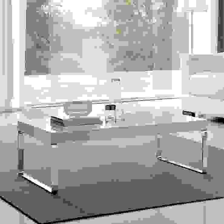 'Anna' Matt or glossy coffee table by La Primavera de My Italian Living Moderno