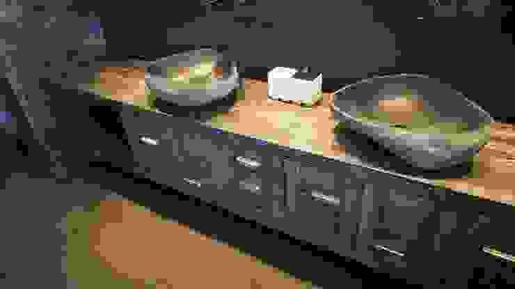 Rustic style bathroom by Bosc Vej s.r.l. Rustic