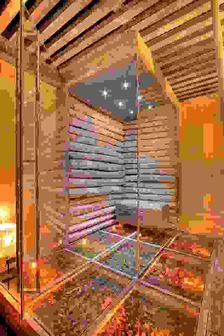prywatny apartament w Megeve, Francja Rustykalne spa od Bosc Vej s.r.l. Rustykalny