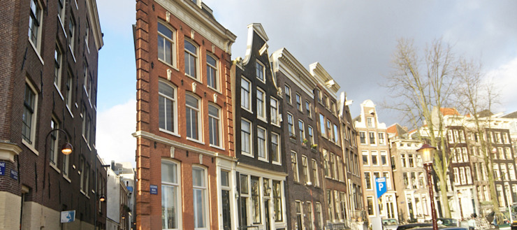 voorgevel Klassieke huizen van BALD architecture Klassiek