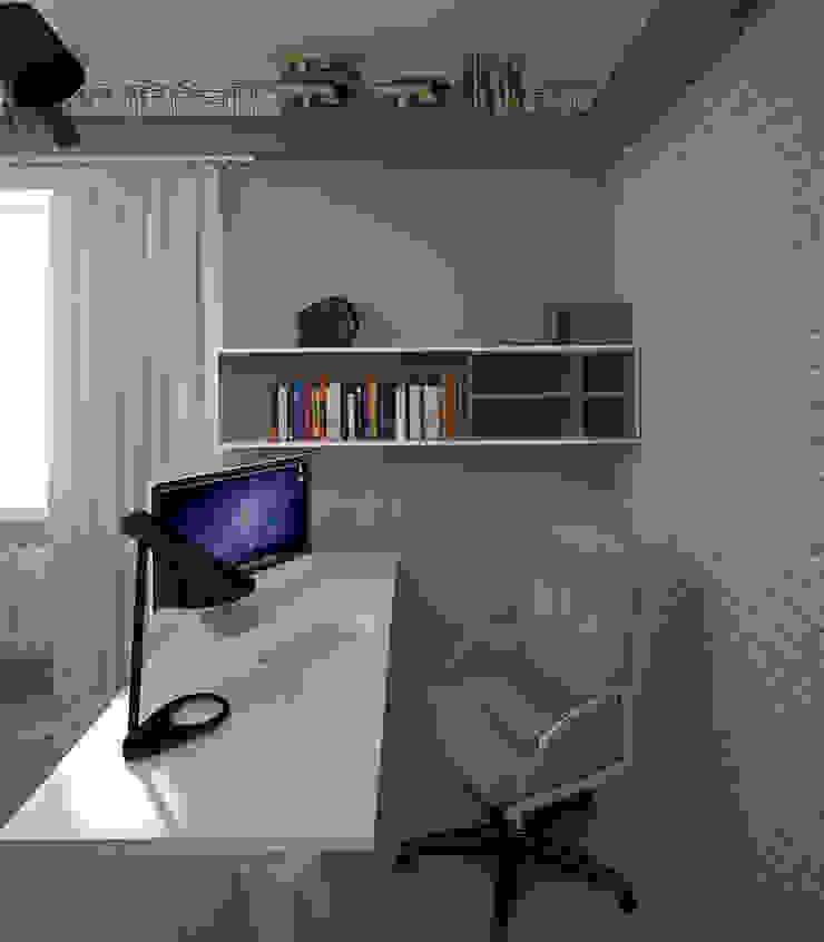 Дом солнца Рабочий кабинет в эклектичном стиле от RED LIGHTs Эклектичный