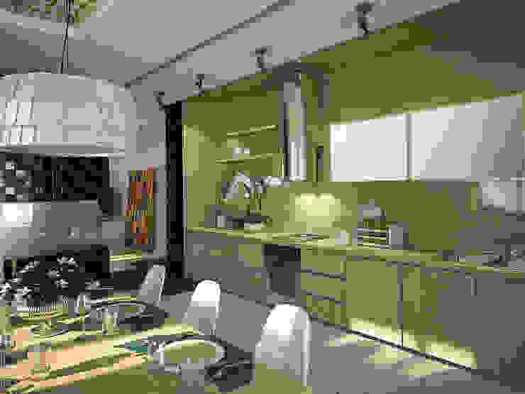 Дом солнца Кухни в эклектичном стиле от RED LIGHTs Эклектичный