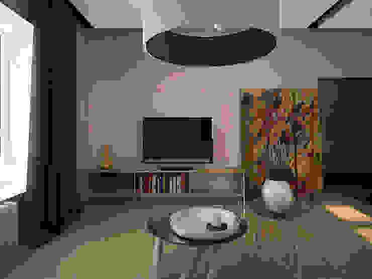 Дом солнца Гостиные в эклектичном стиле от RED LIGHTs Эклектичный