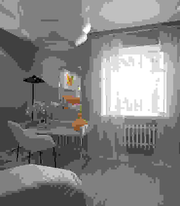 Дом солнца Спальня в эклектичном стиле от RED LIGHTs Эклектичный