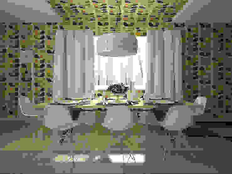 Дом солнца: Столовые комнаты в . Автор – RED LIGHTs,